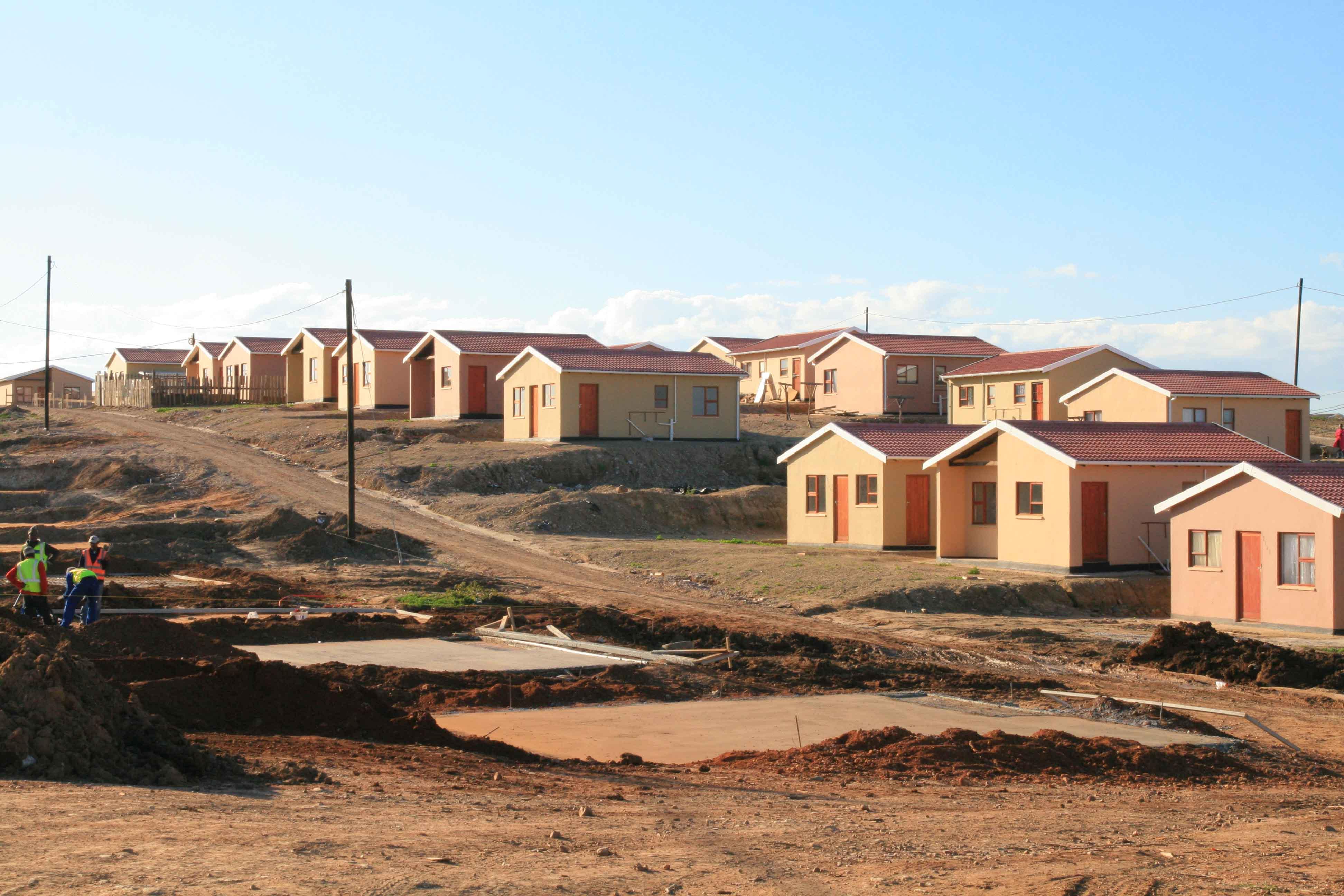 zanemvula housing projects the housing development agency